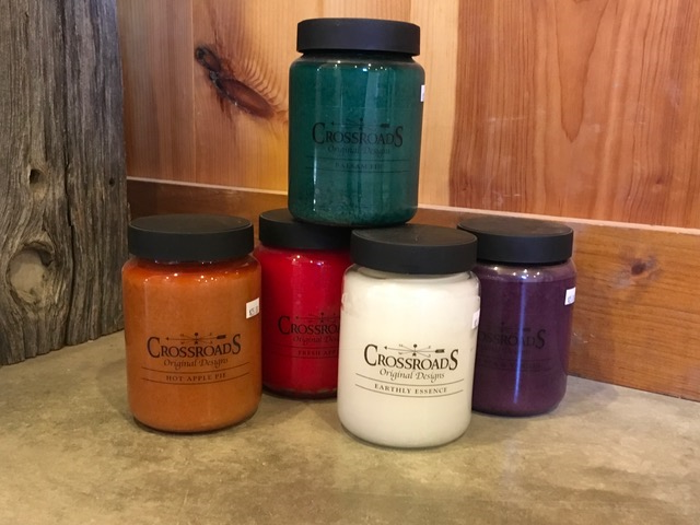 26 oz Crossroads Candles~ $25.00  Burns for approx. 120-140 hours
