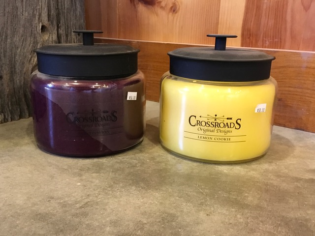64 oz Crossroads Candles~ $50.00  Burns for approx. 200 hours