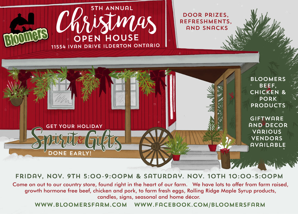 Can't wait to see you out for our 5th Annual Christmas event! Please invite your friends, family, neighbours, and co-workers!