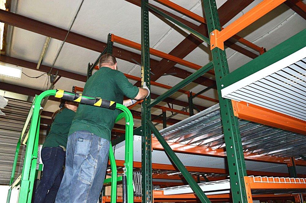 Mezzanine Install