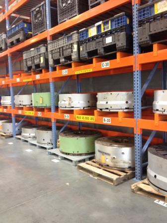 High Capacity Mold Rack