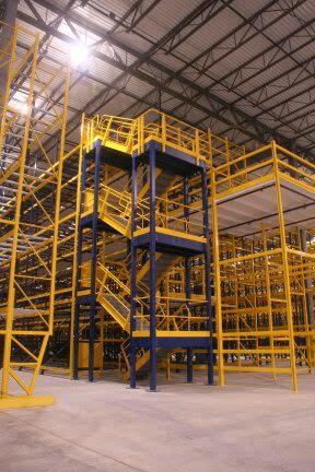 Customized Stairs /Mezzanine / Distribution Center