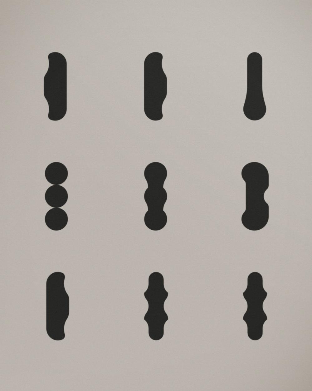 BEIGE 002, Acrylic on Linen (2017), 70x90 cm