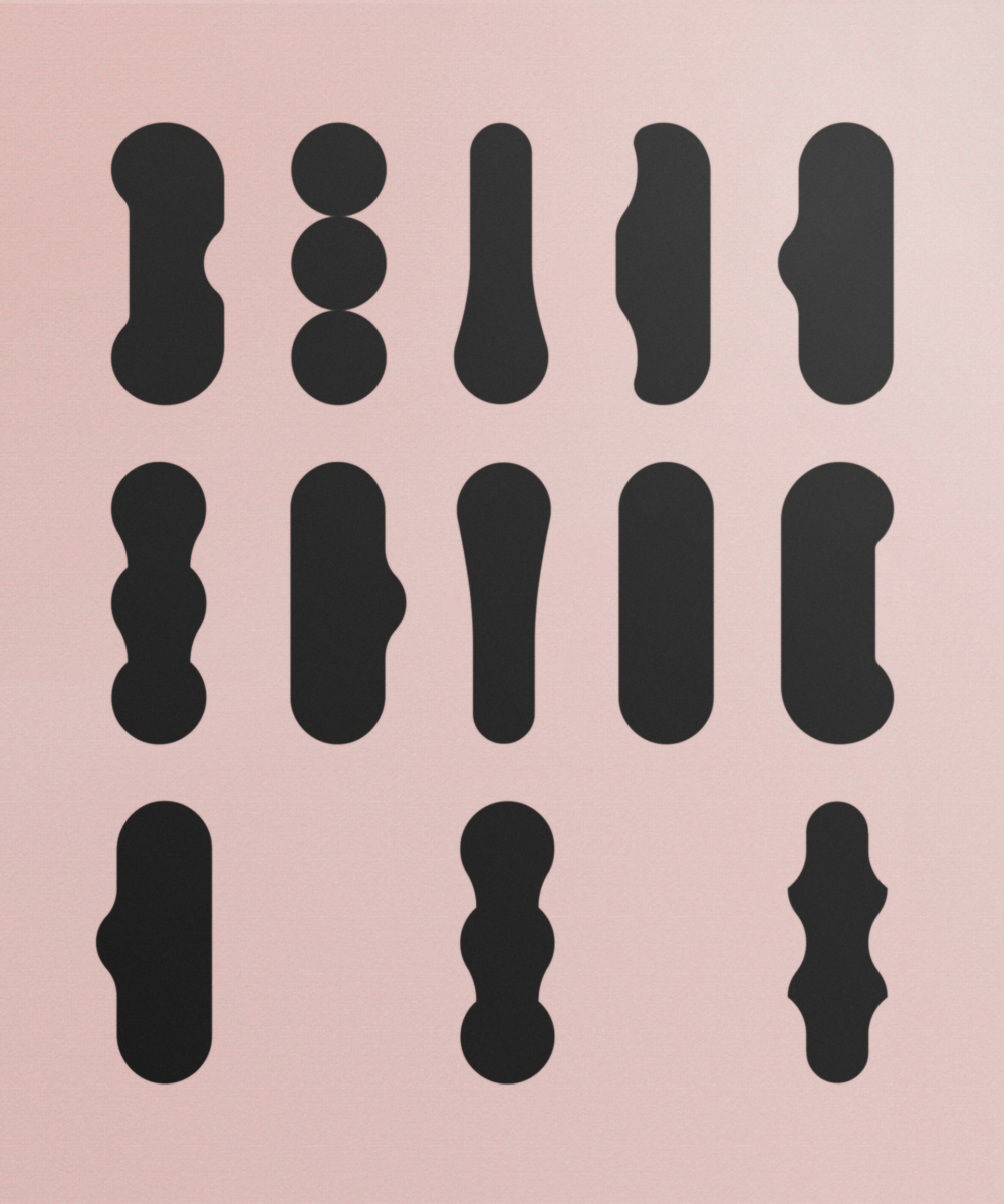PINK 003, Acrylic on Linen (2016), 100x120 cm