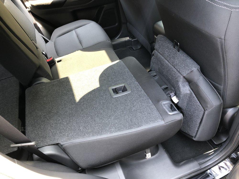 Mitsubishi Stow and Go Seating