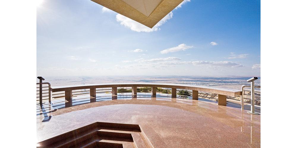 View Of Terrace Grand Hotel Jebel Hafeet