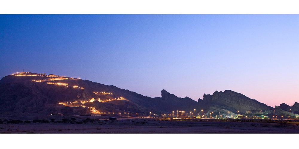 Night View Jebel Hafeet