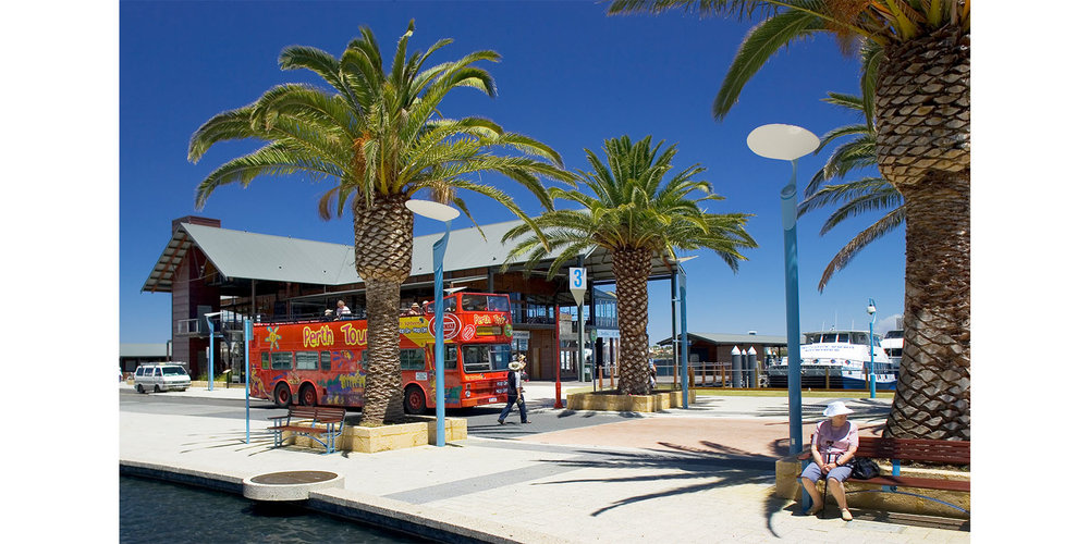 Harbour Station Of Perth