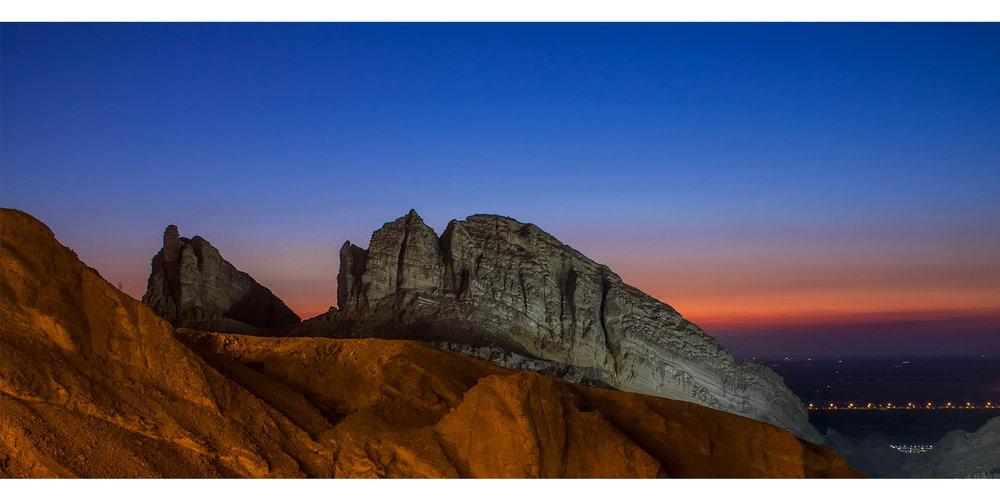 Jebel Hafeet Moutains