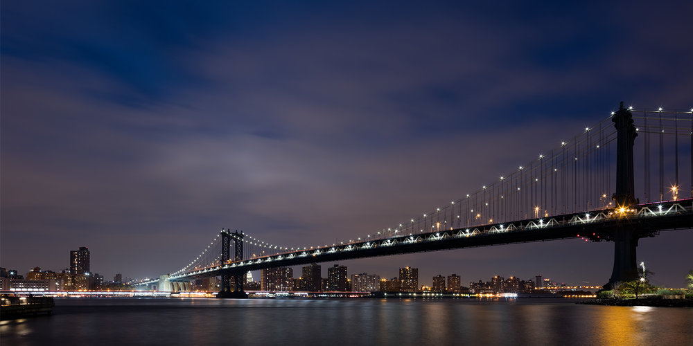 Manhattan Bridge <br> New York-2015