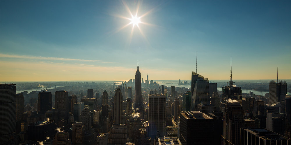 View from Chrysler Building </br>New York - 2012