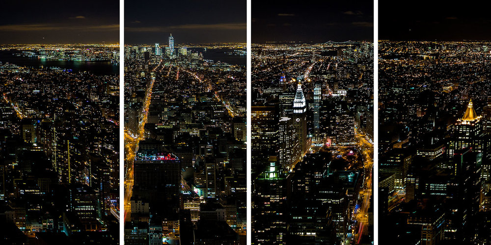 View from Empire State Building </br>New York - 2012