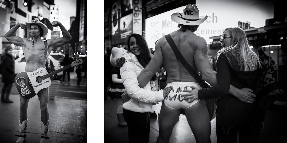 Atmosphere of Time Square<br>New York-2015