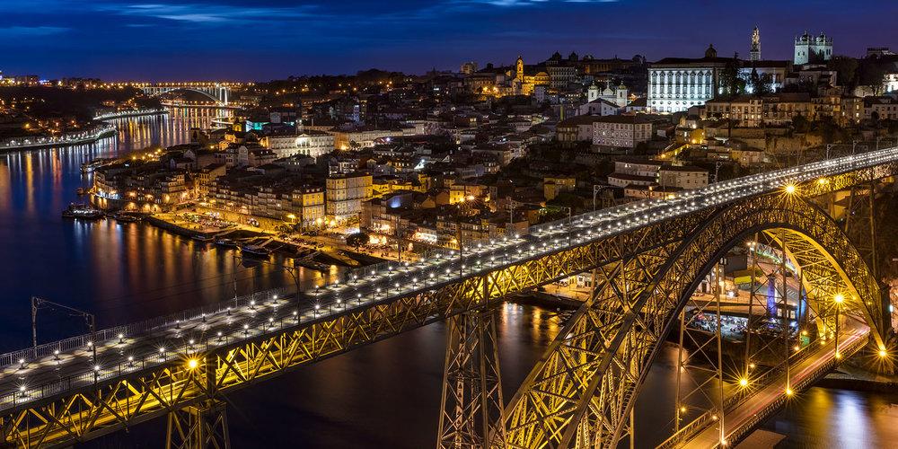 Louis 1er Bridge- by Théophile Seyrig<br>Porto-2018