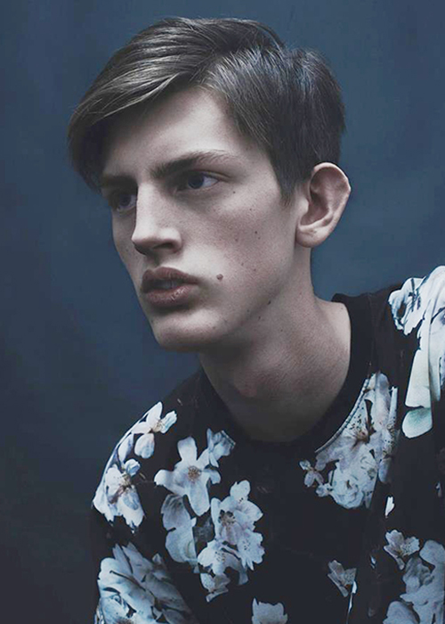 Ludde Dillén Scouted via GMS in 2014, placed with DIVA Models.
