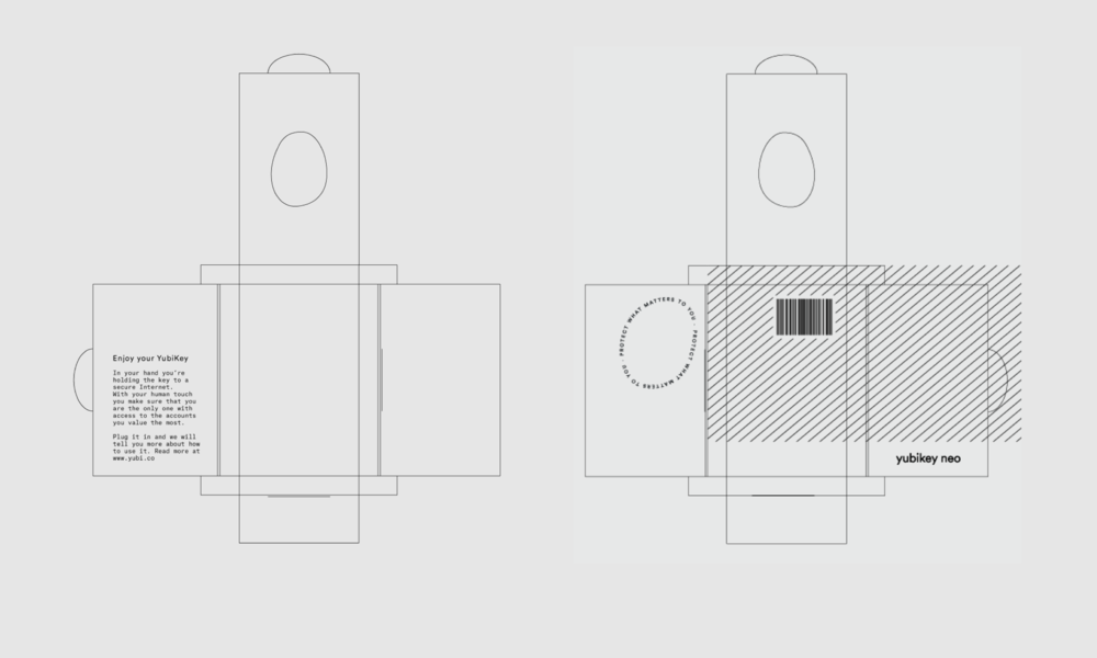 Packaging drawing