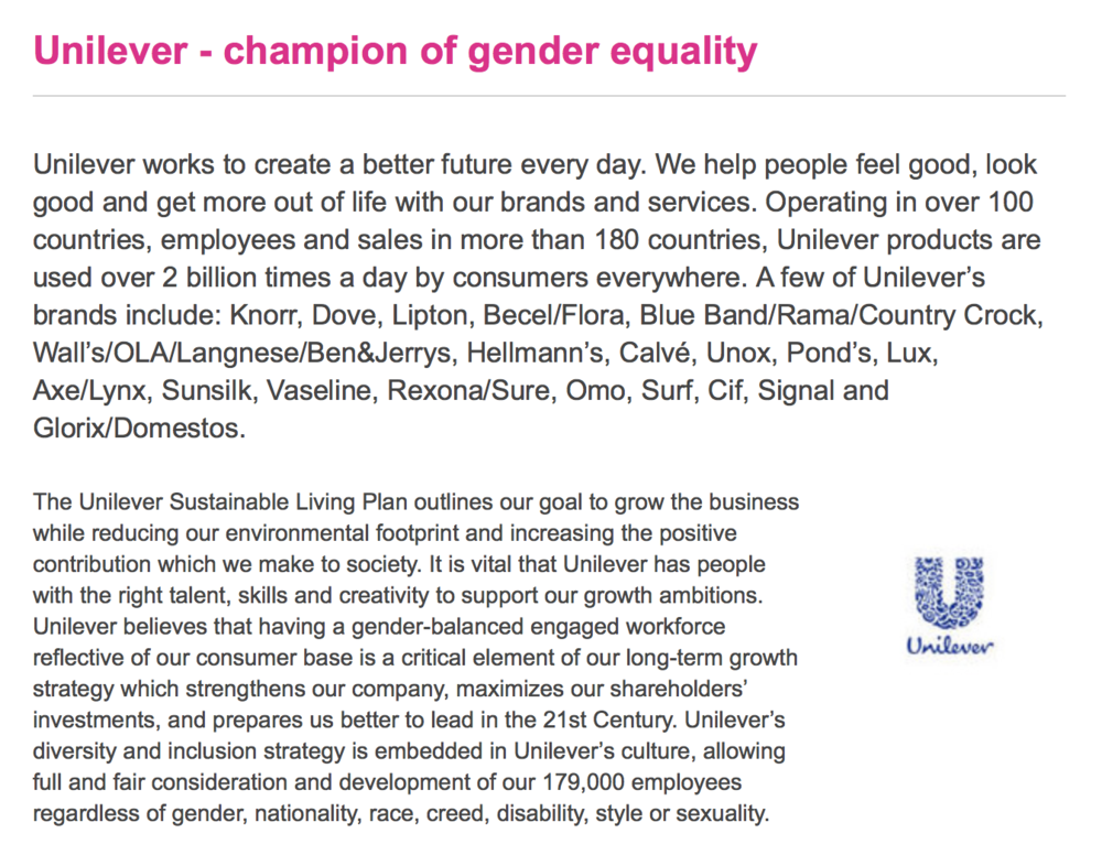 Research Unilever