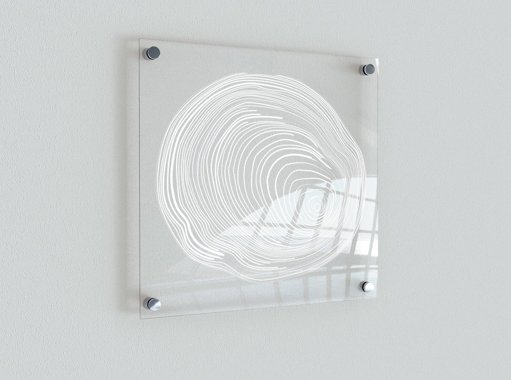 Year Rings Plexi Art_Lisa Liljenberg