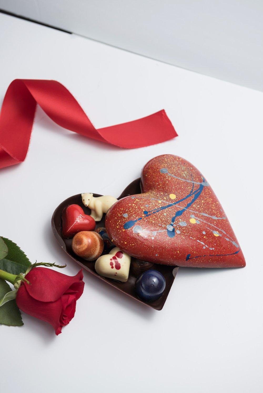 Valentine's Day 2017 Dark Chocolate Heart