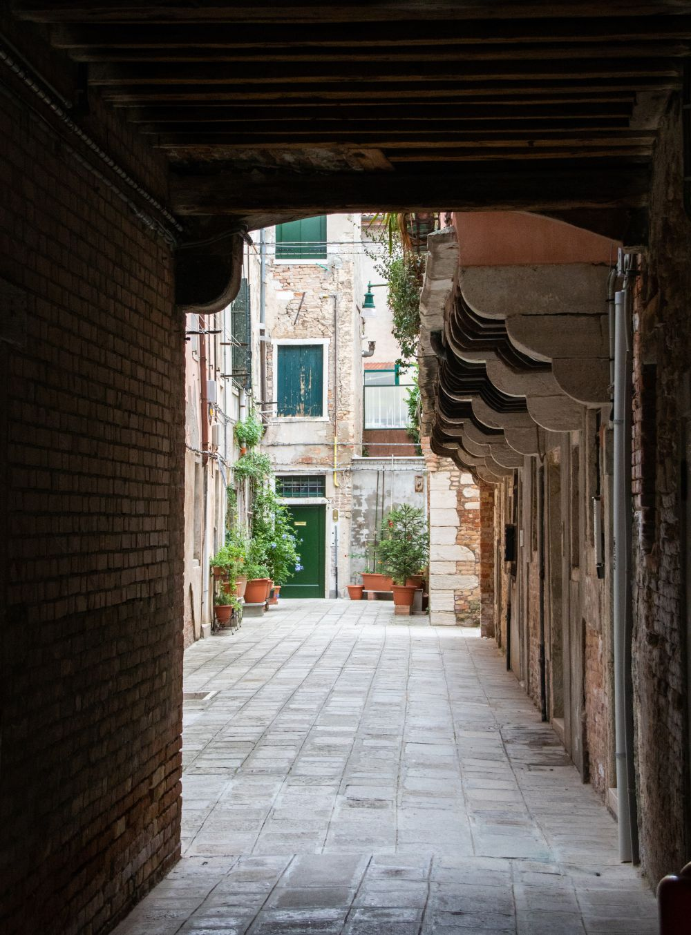 Streets in Venice Italy