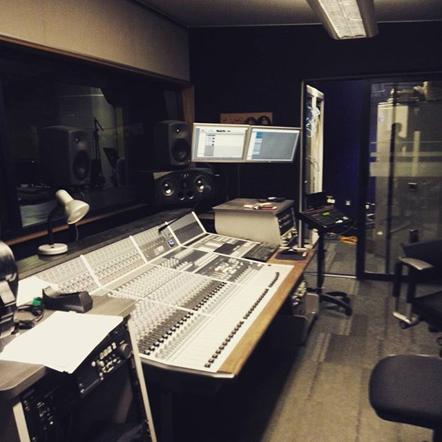 Let's get ready to rumble! #recordingstudio #episodeone #audiodrama