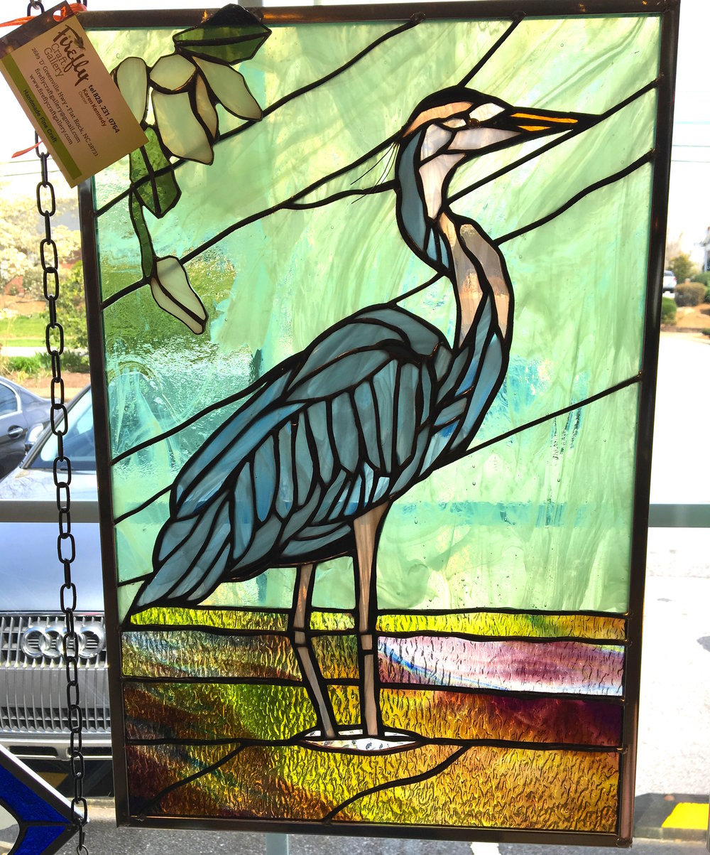 Heron by Donna Martin