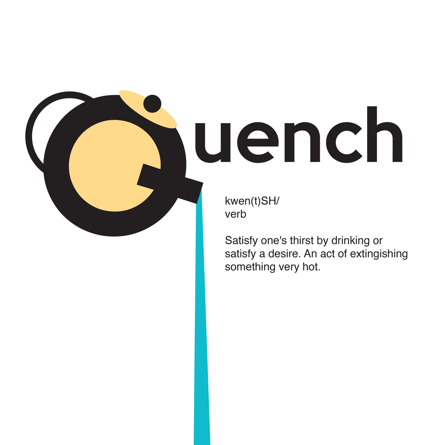 quench type metaphor — raven shelton