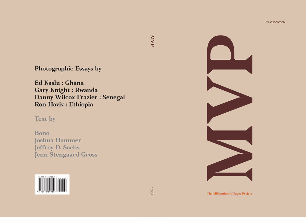 Millennium Villages Project book jacket.