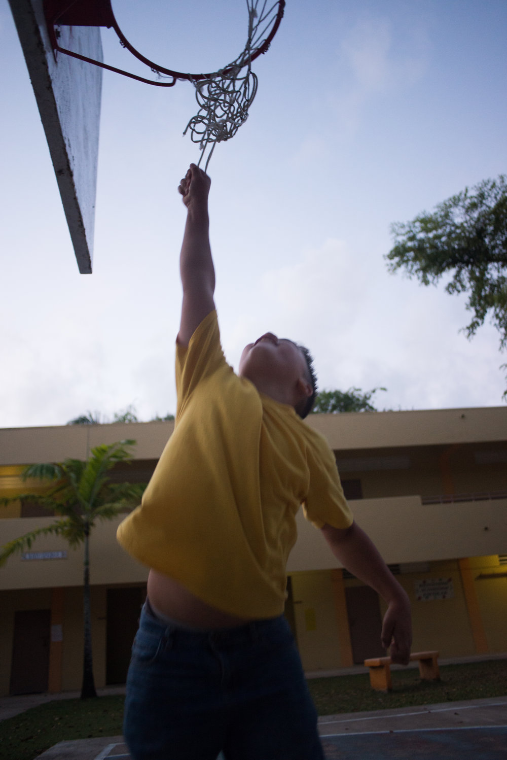 6/7/18 – Bayamón, Puerto Rico – The Puerto Rican Department of Education is closing 283 schools, and moving multiple schools into the same building, citing the past year's drastic drop in enrollment as one of the primary reasons to lower the amount of schools, and instead increase the amount of students in each school. Students of special education schools are one of the groups to be most negatively affected by these closings, as the new schools may not offer the resources the students need and have access to at their current schools. (Sofie Hecht Photography)