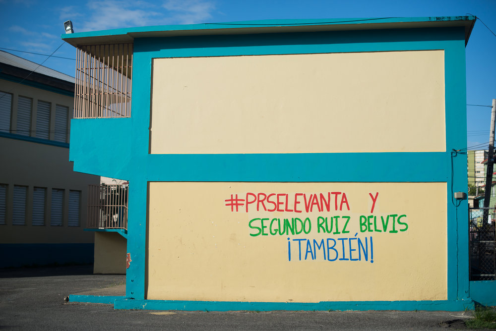 6/11/18 – Bayamón, Puerto Rico – La Escuela Segundo Ruiz Belvis in San Juan is on a list of schools to be closed before the Fall 2018 academic year.The Puerto Rican Department of Education is closing 283 schools, and moving multiple schools into the same building, citing the past year's drastic drop in enrollment as one of the primary reasons to lower the amount of schools, and instead increase the amount of students in each school. Students of special education schools are one of the groups to be most negatively affected by these closings, as the new schools may not offer the resources the students need and have access to at their current schools. (Sofie Hecht Photography)