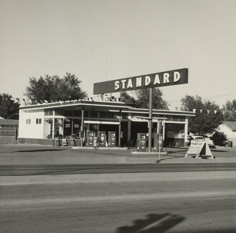 Ed Ruscha's classic  Twenty-Six Gasoline Stations  helped defined the aesthetics of gasoline purchasing in 1962.  How is buying gasoline defined today?