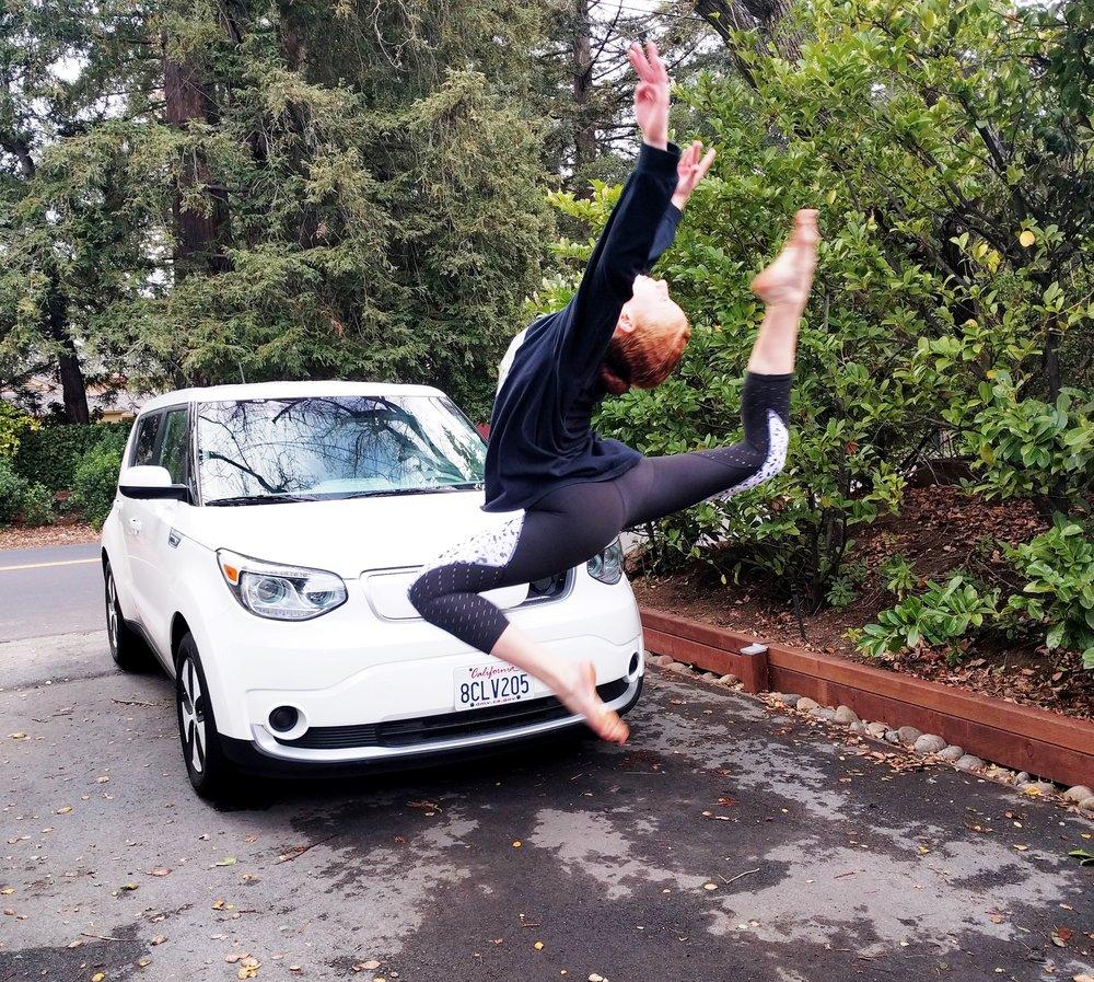 180322 Viv leaping clean car.jpg