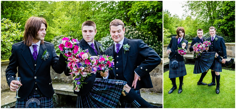 Balbirnie House Wedding
