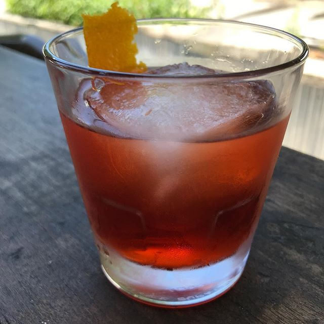 Join us for a classic Negroni all this week. @ashevillenegroni @campariamerica Proceeds go to the Helen David Relief Fund which supports women in the bar industry affected by Breast Cancer. Cheers 🥃