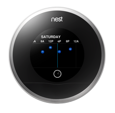 Figure 1 Nest smart thermostat