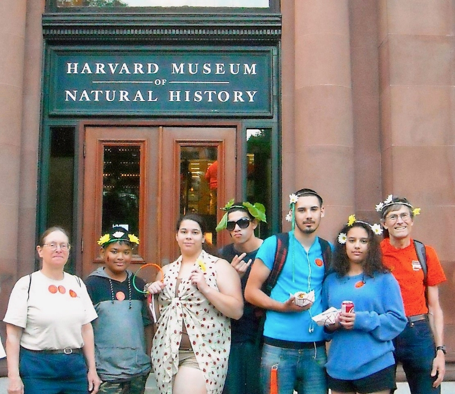 YWCA youth celebrate Summer Solstice and explore the area during a field trip to Harvard University.