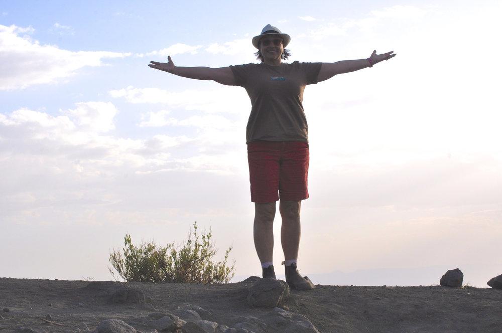 On top of Roha Mountain, Ethiopia