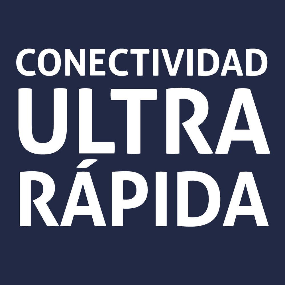 Conectividad ultra rápida