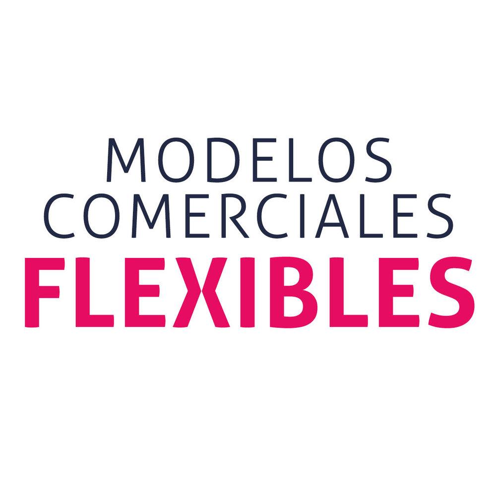 Modelos comerciales flexibles