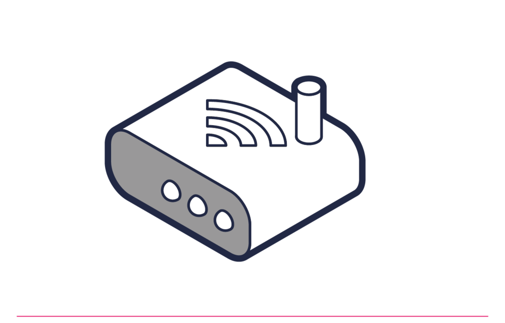 Conecta el router inalámbrico y configura su propia red inalámbrica y contraseña.