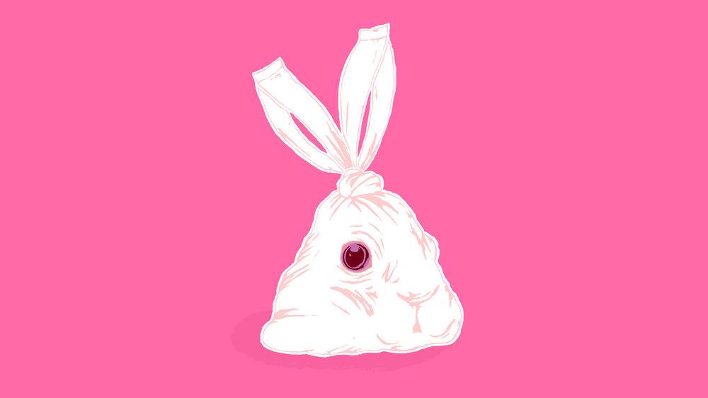 Trash - rabbit