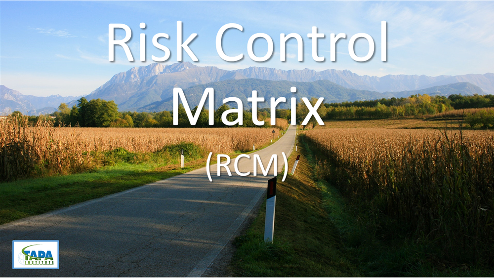 This Detailed Roadmap to Engagement Success - risk control matrix course will define and explain the components of the road map that is used in audit engagements.  This road map is a flexible and adaptive method that will help you document the risk and controls. Seminar Objectives: Identifies the risk areas and control steps that are need to effectively mitigate risks and control deficiencies. - $49.99