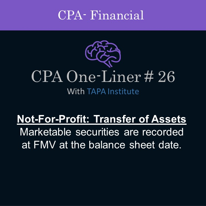 FAR - CPA One-liner - Not for profit transfer of assets - 01326.jpg