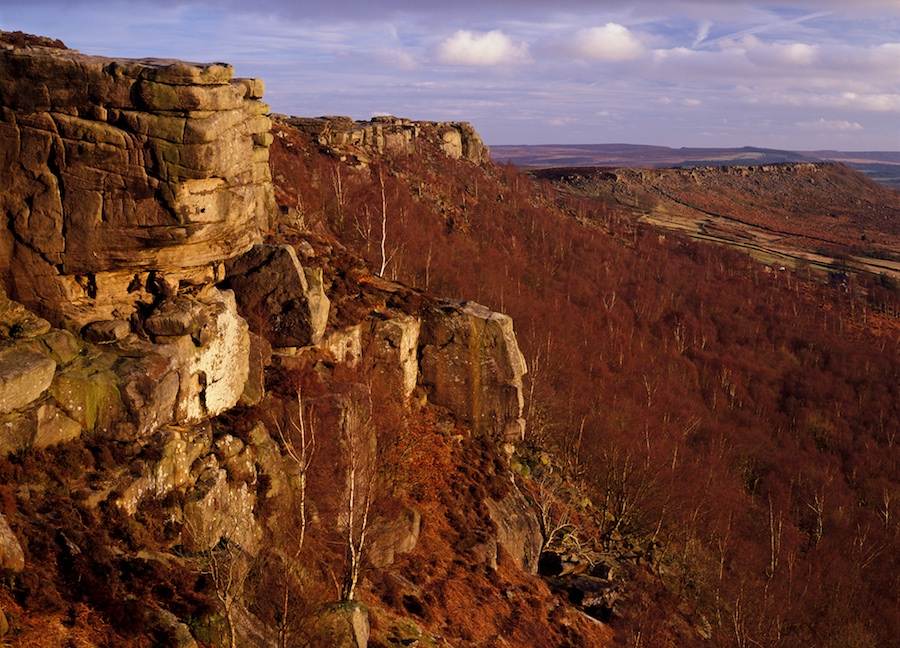 Curbar Edge. Photo: Dave Parry