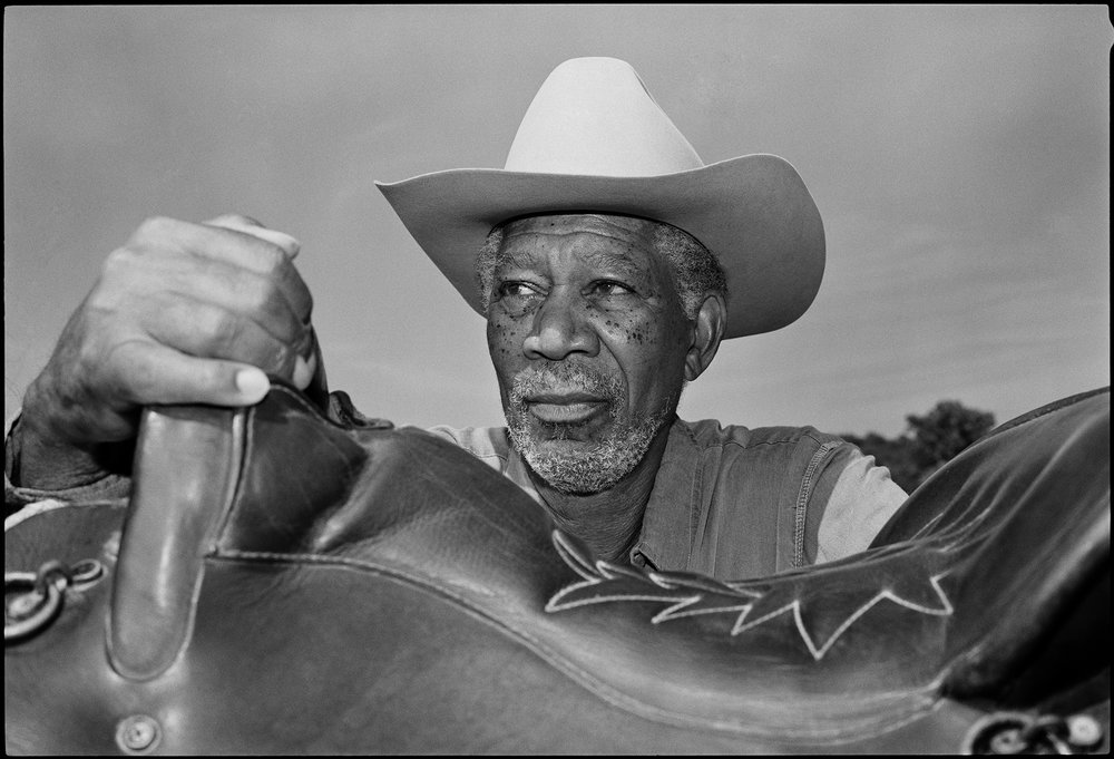 Morgan Freeman Photo Jim Herrington