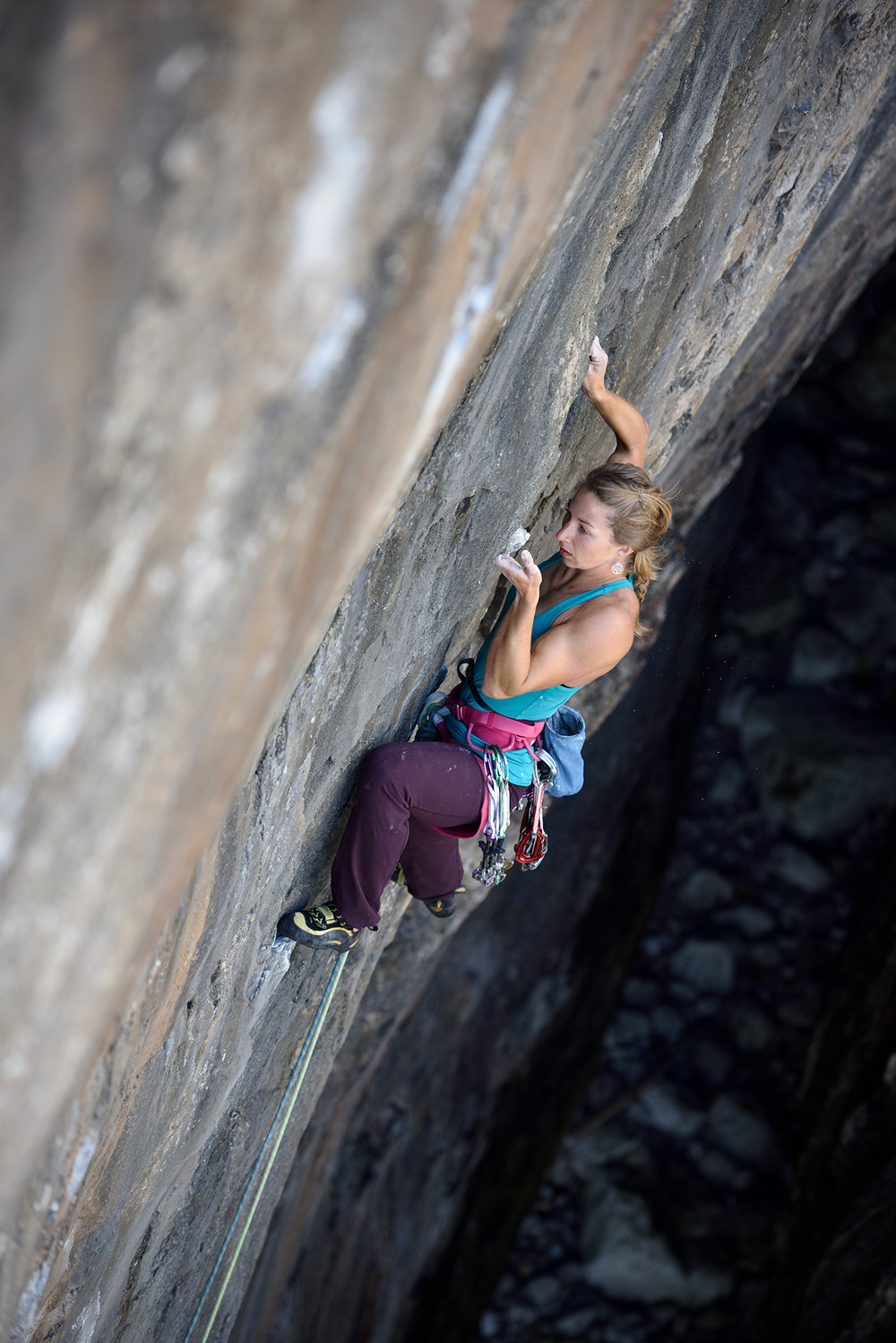 Madeleine Cope on sighting Ghost Train E6 6b, Stennis Ford, Pembroke, Wales