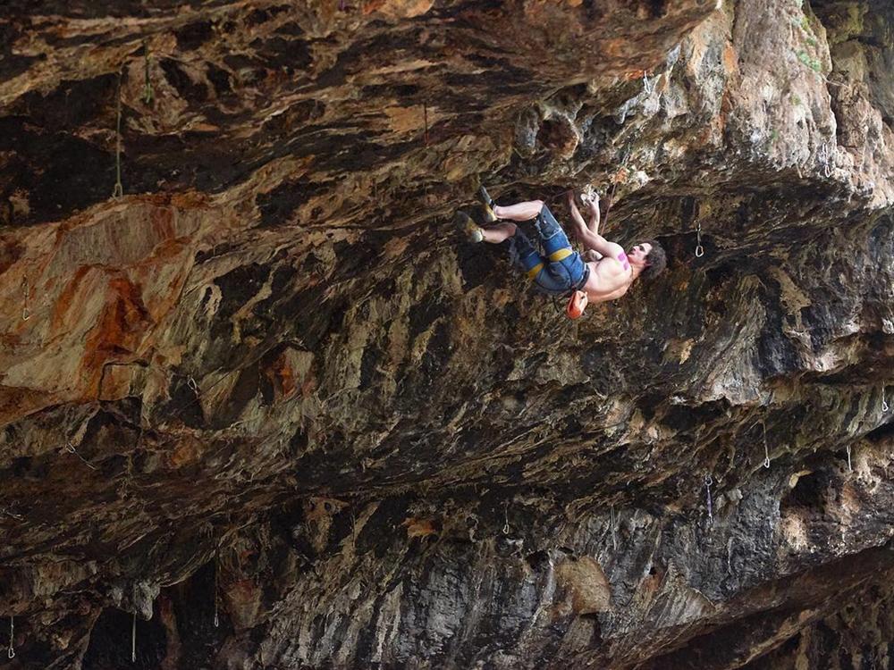 Adam Ondra on 'Climb Free' Photo: Adam Ondra Instagram