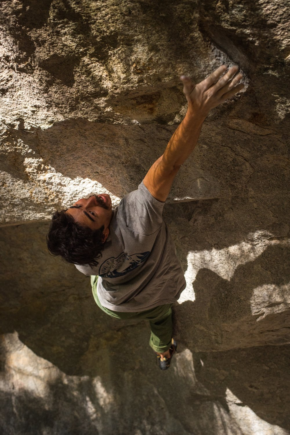 FA of Unscathed V12, Yosemite Photos Parker Yamasaki