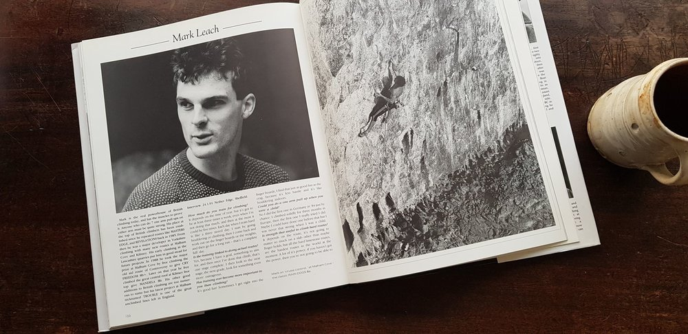 Mark Leach in The Power Of Climbing