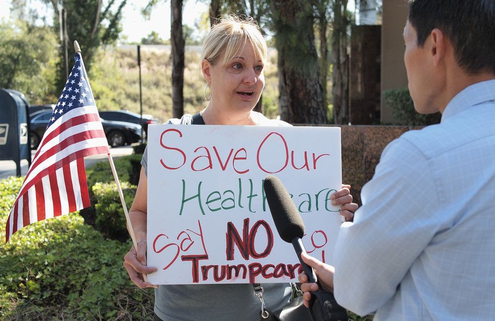 Trumpcare Vote Rally - Vista - May 4, 2017